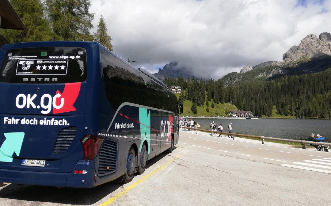 Sicheres Busreisen mit OK.go