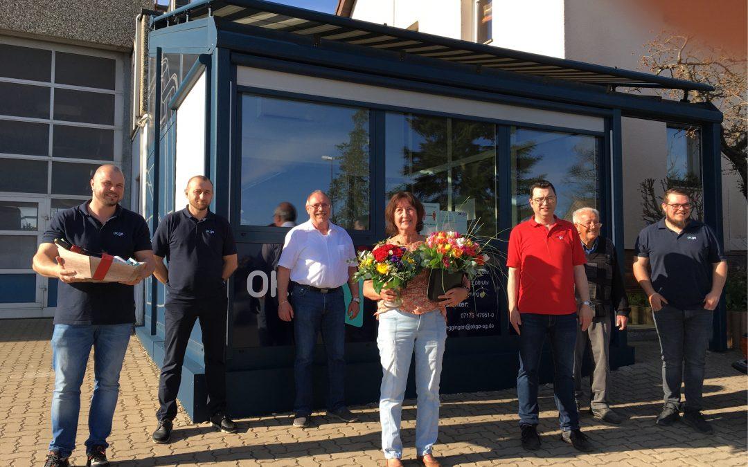 Charlotte Weiss in den Ruhestand verabschiedet